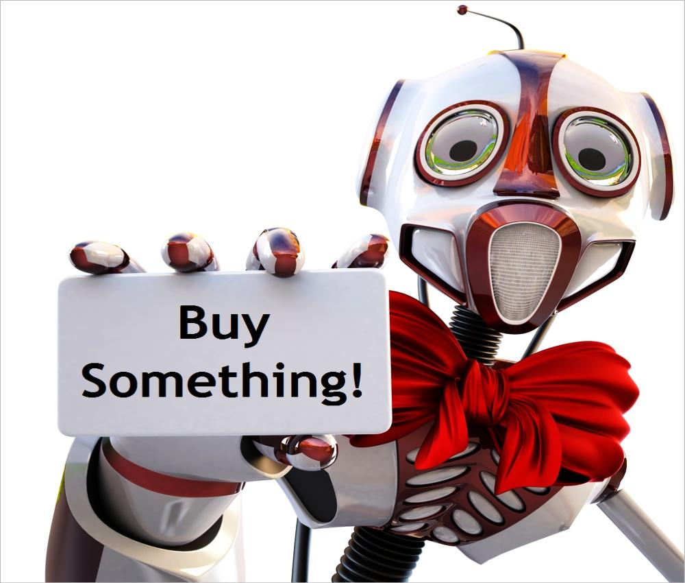buy something